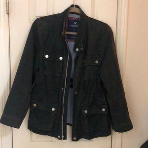 American eagle Dark green utility jacket